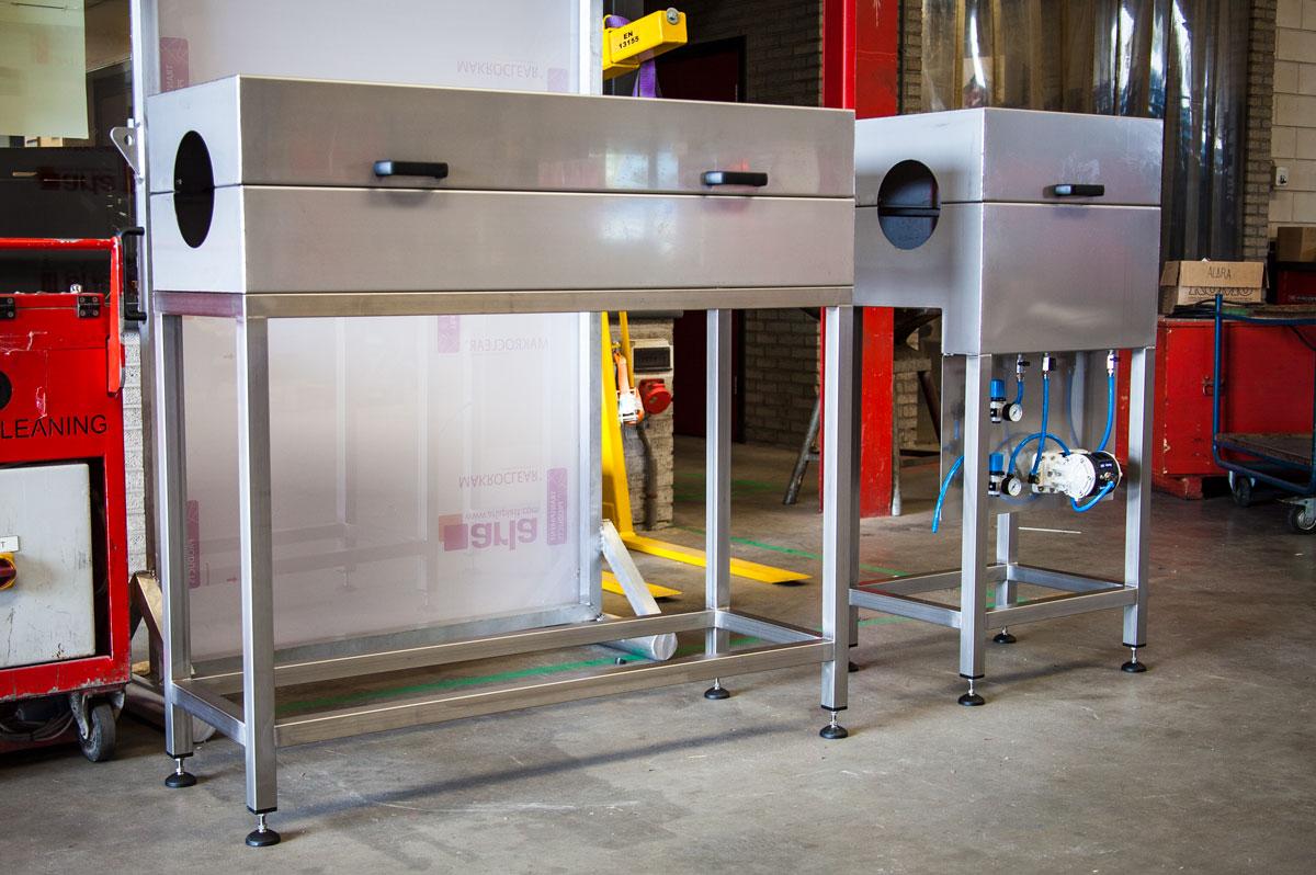 Afbeelding Schipper Technisch Serviceburo Spoelbakken voor extrusieproces