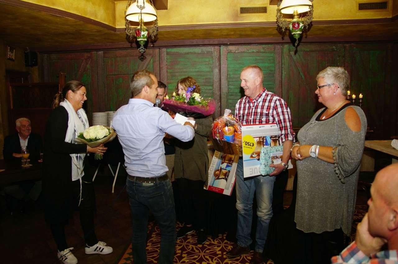 Martin vierde in september zijn 12,5-jarig jubileum. Voor hem werd er een gezellig feest georganiseerd!