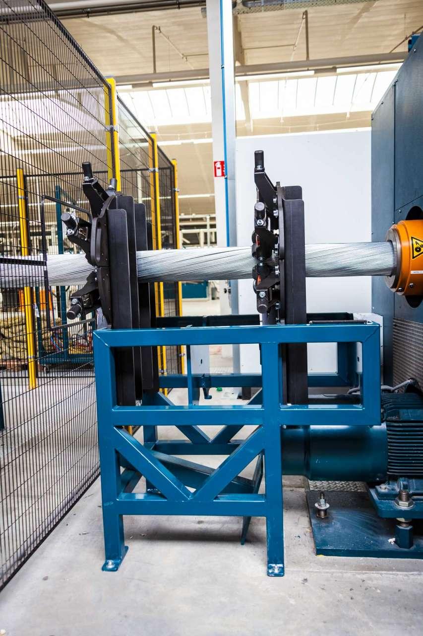 Afbeelding Schipper Technisch Serviceburo Doorschietbeveiliging armeerdraad voor kabelfabrikant