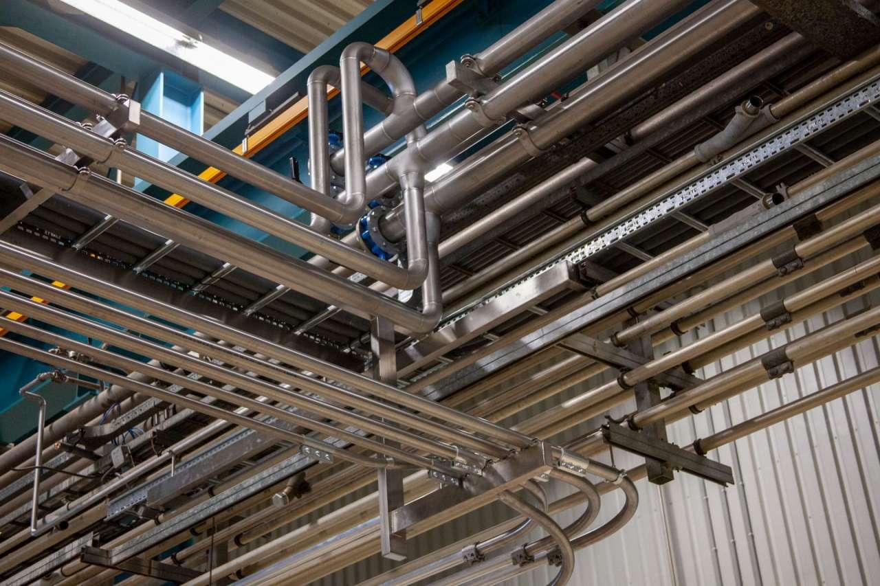Industrieel leidingwerk is één van onze specialismen